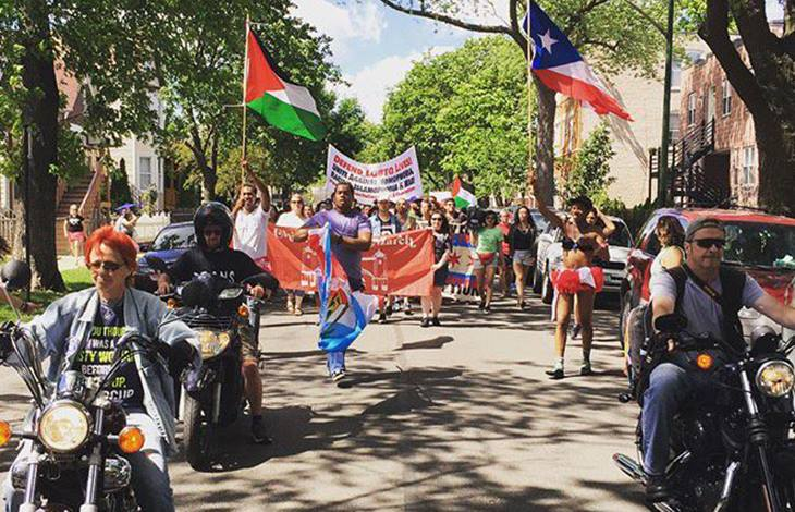 Dyke march accused of antisemitism