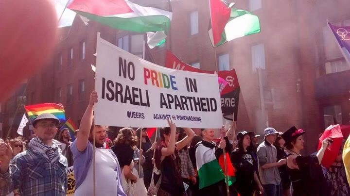 No pride in Israeli apartheid