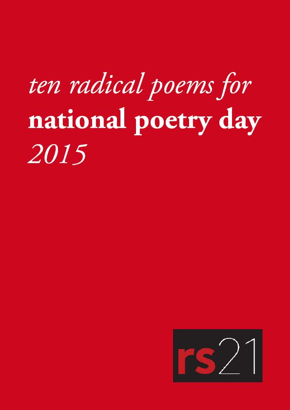 Ten radical poems