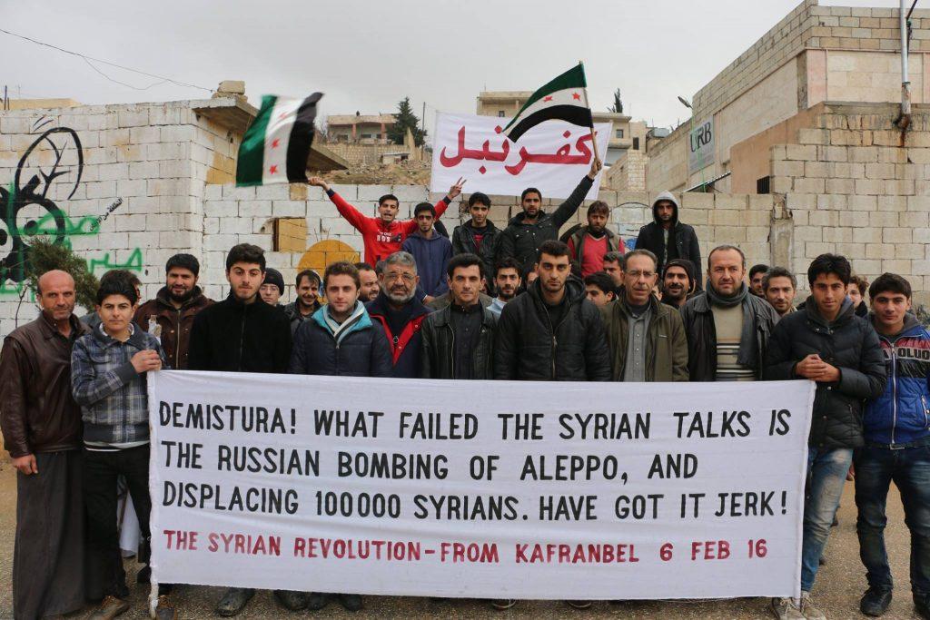 Kafranbel Peace talks fail