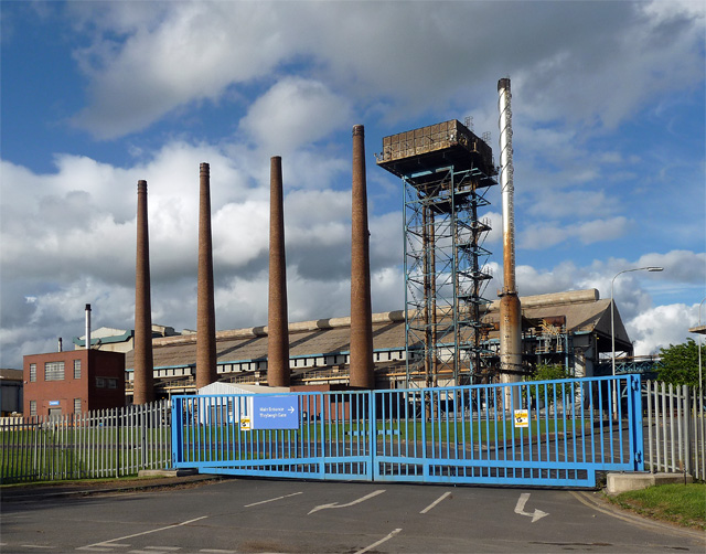 Aldwarke steel works. Image: Stephen Richards
