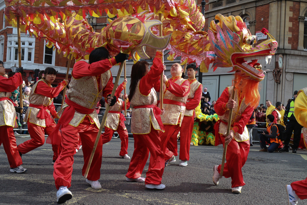The London China Town community plan to take part in the day with a lion parade (Photo: Steve Eason)