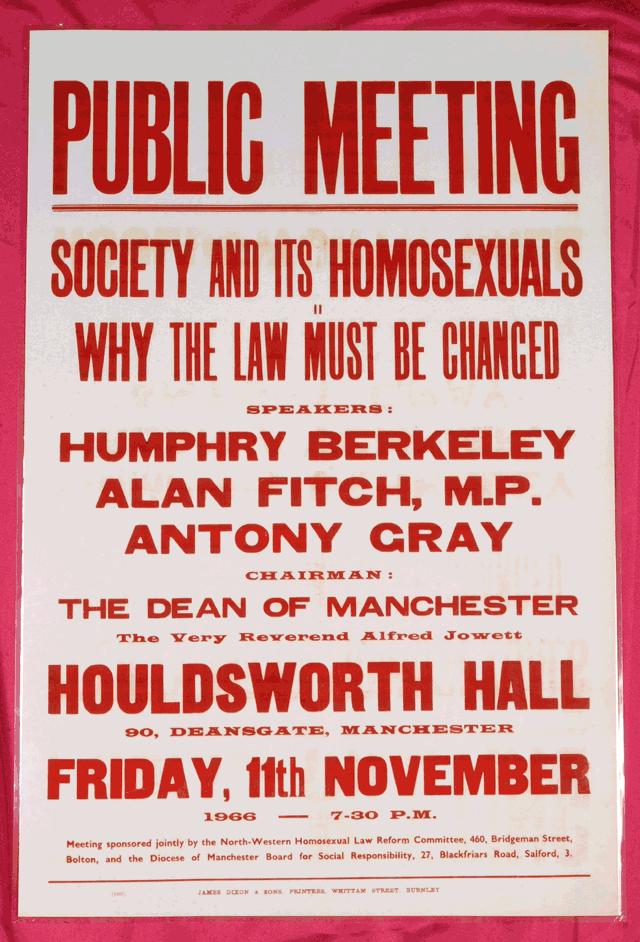 Homosexuality uk law reform